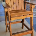 Western Red Cedar Directors Chair