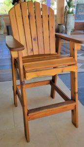 Western Red Cedar Directors Chair