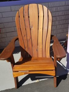Western Red Cedar Santa Fe chair