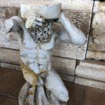 Hercules Italian hand sculpted statue