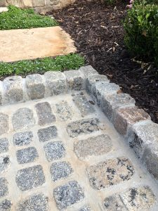 cobble edging