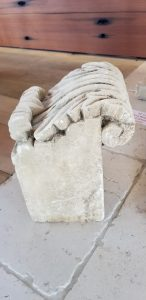 Italian limestone corbel