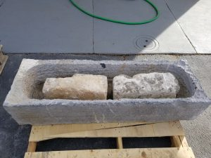 French Bluestone trough