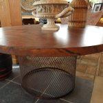 copper table 60 inch
