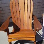 Western Red Cedar Santa Fe chair
