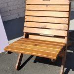 Western Red Cedar Sports chair