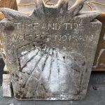 limestone sundial