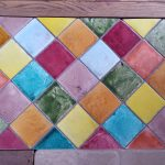 Glazed Italian tile