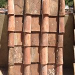 """roman roof """"tegola"""" Italian roof pans (shown with cups)"""