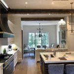 French oak flooring, reclaimed beams