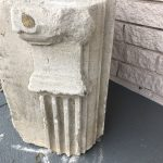 Antique French limestone remnant