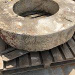 antique French stone wellhead