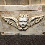 Italian marble Angel Relief