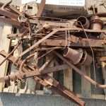 Doctor buggy metal frame