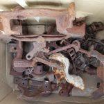 metal cogs antique various assortment